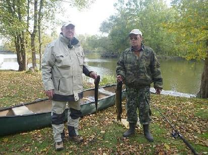Viele Möglichkeiten für Angler: Stillgewässer, Kanal oder die Oder.