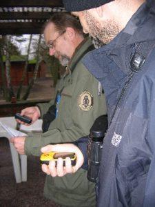 GPS-Workshop: praktische Übung im Gelände