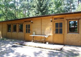 Bungalow mit Seminarraum und Nationalparklabor